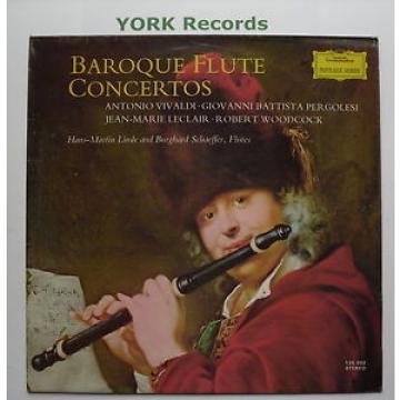 DG 135 002 - BAROQUE FLUTE CONCERTOS - LINDE / SCHAEFFER - Ex Con LP Record
