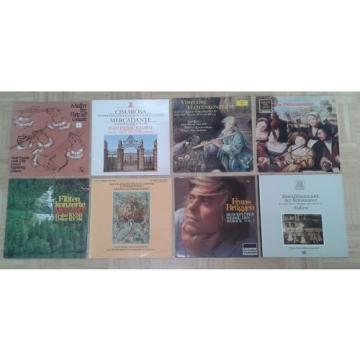 L26 LOT OF 8 x LP FLUTE RECORDER NICOLET LINDE BRUGGEN RAMPAL MAGNIN REDEL