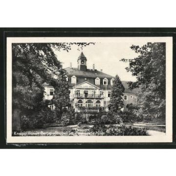 alte AK Berggießhübel, Blick auf Paul Linde-Haus