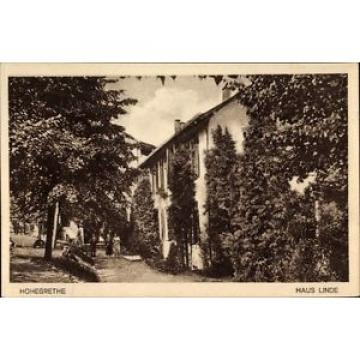 Ak Hohegrete Pracht in Rheinland Pfalz, Pension Haus Linde - 1386045