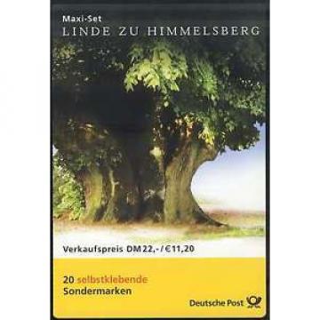 45 MH Linde zu Himmelsberg 2001, Maxi-Set mit 20 Marken, postfrisch