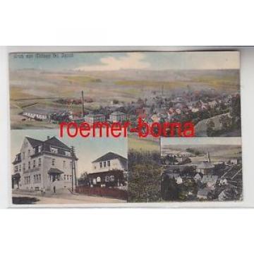 76302 Mehrbild Ak Gruß aus Mülsen St. Jacob Bahnhofs-Hotel zur Linde 1932