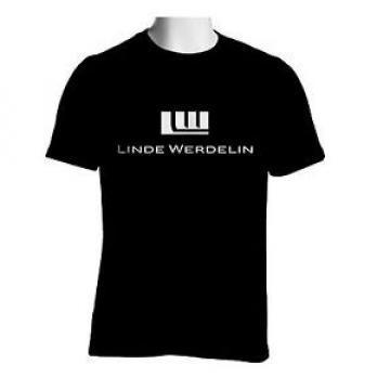 Linde Werdelin Black T-shirt Watch Logo Men's Tshirt S to 2XL