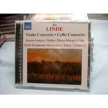 Bo Linde Violin &Cello Concerto K.Gomyo,M.Kliegel,P.Sundkvist Like New Cond. #85