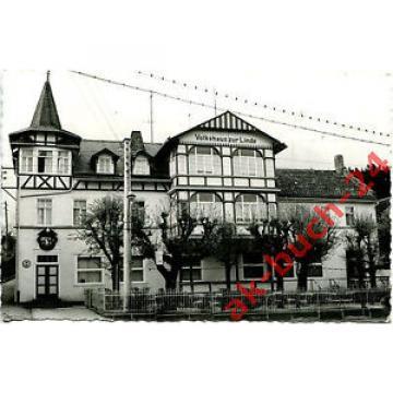 AK Finsterbergen ca. 1960 (?) Volkshaus zur Linde - Fotografenkarte / Tabarz