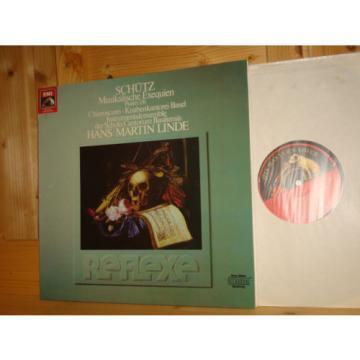 Schütz Musical Exequies LINDE BASEL KNABENKANTOREI BOYS CHOIR EMI REFLEXE LP NM