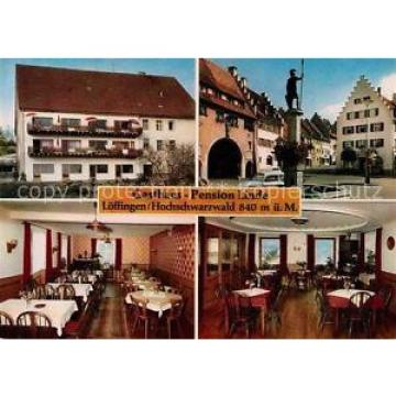 42695050 Loeffingen Gasthaus Pension Linde Marktbrunnen Speiseraum Loeffingen
