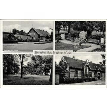 Ak Hardebek in Schleswig Holstein, Gasthaus zur Linde, Bes. Joh.... - 10066443
