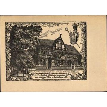 Künstler Ak Geisenheim am Rhein Hessen, Hotel Zur Linde, Inh. B.... - 1063879