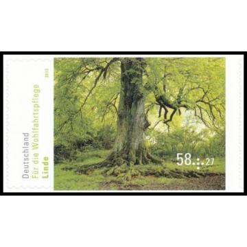 BRD MiNr. 2986 ** Wohlfahrt 2013: Blühende Bäume: Linde, postfr., selbstklebend