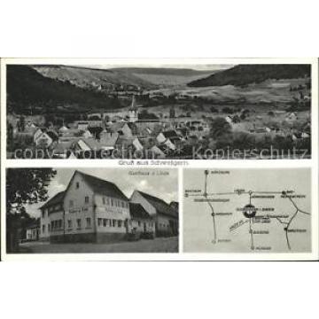 31727488 Schweigern Gasthaus z. Linde Karte Boxberg