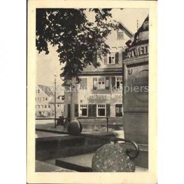 31727582 Wart Altensteig Gasthaus zur Linde Altensteig