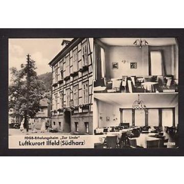 """36503/ AK - Ilfeld (Harz) - FDGB-Erholungsheim """"Zur Linde"""" - *"""