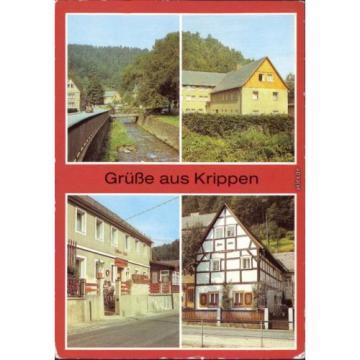 Krippen Bad Schandau,Ferienh. Chemiekombinat Bitterfeld,Gasthaus Zur Linde 1984