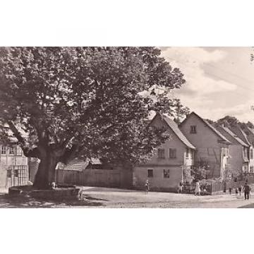 2 AK Kranichfeld Ilm 1960er-Jahre Linde vorm Baumbachhaus Ortsansichten
