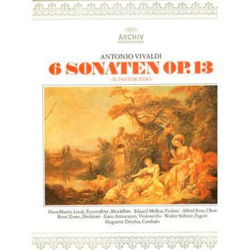 Vivaldi: Il pastor fido  op. 13  Linde  Melkus  Sous  Dreyfus    DG Archiv