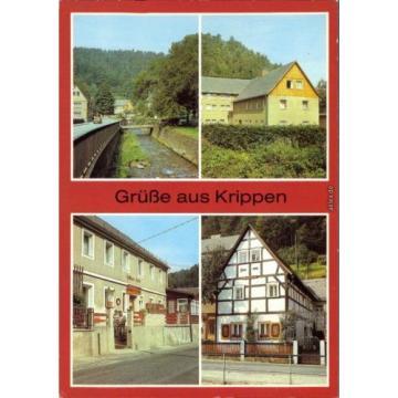 Krippen Bad Schandau Ferienheim des VEB Chemiekombinat, Gasthaus Zur Linde 1984