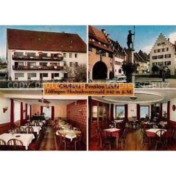 42695041 Loeffingen Gasthaus Pension Linde Speiseraum Marktbrunnen Loeffingen