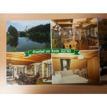Gasthof zur Linde Hetzenbach Zell Bayerischer Wald Doppelkarte