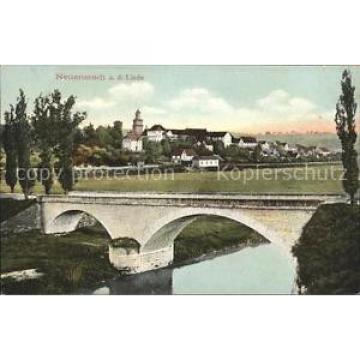 31729683 Neuenstadt Kocher a.d. Linde Bruecke Litho  Neuenstadt am Kocher