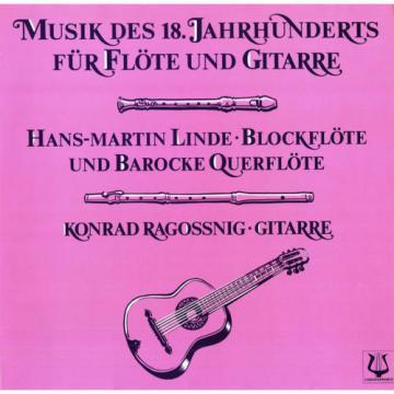 HANDEL GANT LOCATELLI BACH VISEE TELEMANN Flute & Guitar Music LINDE RAGOSSNIG