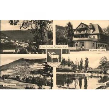 41455011 Sitzendorf Thueringen Wappen Hotel zur Linde Schwarzatal Schwimmbad Sit