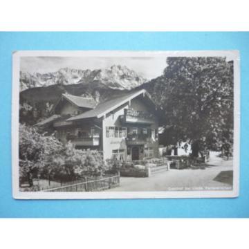 AK (1353) Partenkirchen, Gasthof zur Linde - gelaufen  1934