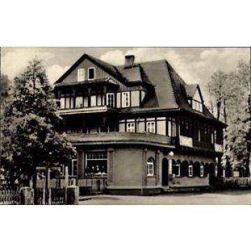 Ak Sitzendorf an der Schwarza in Thüringen, HO Hotel Zur Linde - 1655079