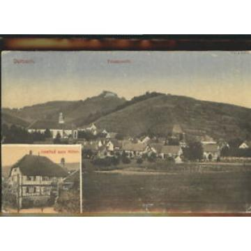 40462251 Durbach Durbach Gasthof Obere Linde x 1923 Durbach Schwarzwald