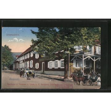 alte AK Ottenhöfen, Gasthaus und Pension zur Linde von E. Bertrand 1916