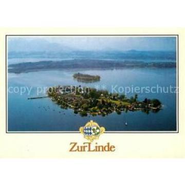 72942546 Fraueninsel Chiemsee Fliegeraufnahme Zur Linde Hotel Restaurant Chiemse