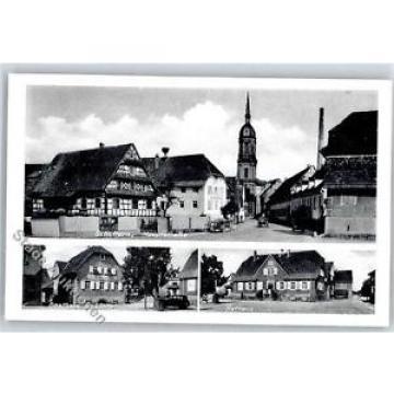 51106537 - Schuttern , Baden Hauptstrasse, Gasthaus zur Linde, Rathaus, Kirche