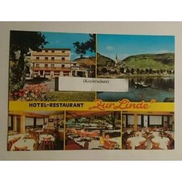 Ansichtskarte/Postcard: Restaurant Zur Linde Klotten [ungel] (15031622)