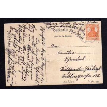 109367 AK Hohnhardtsweiler Bäckerei Gasthaus zur Linde v Gg. Haaf Forsthaus 1917