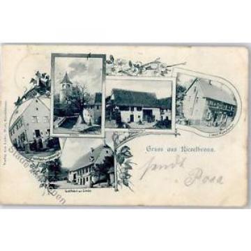 51435894 - Kieselbronn Kirche Postagentur Gasthaus zur Linde