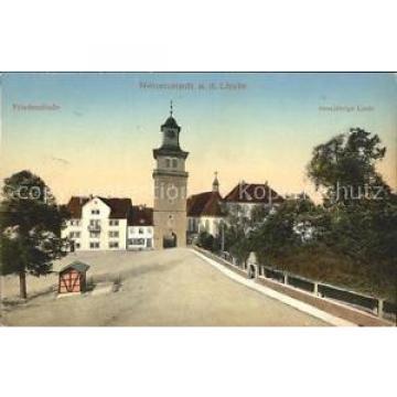 31729690 Neuenstadt Kocher Friedenslinde 1000 jaehrige Linde Litho Neuenstadt am