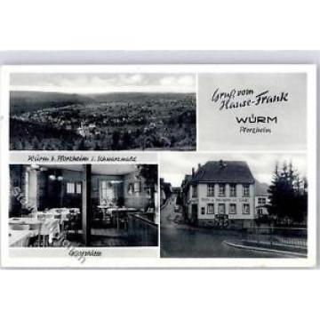 51589892 - Wuerm , Schwarzw Gasthaus Metzgerei zur Linde Hause Frank  Preissenku