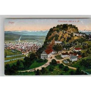 42681183 Singen Hohentwiel Scheffel-Linde Festungsruine Singen (Hohentwiel)