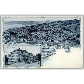 51294816 - Heiden 1911 Hotel Linde Preissenkung