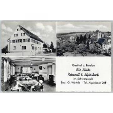 51472676 - Peterzell , Wuertt Gasthaus Pension Zur Linde Kirche