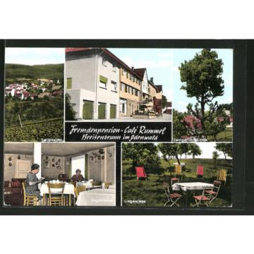 tolle AK Breitenbrunn, Pension Cafe Rummel, Zentgericht Linde