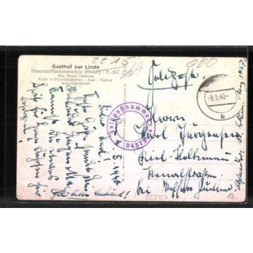 tolle AK Hanerau-Hademarschen, Gasthof zur Linde, Gaststube 1940