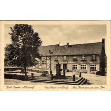 Ak Bad Sooden Allendorf in Hessen, Gasthaus zur Linde, Am Brunnen... - 1605536