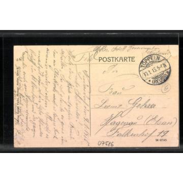 tolle AK Niederndorf, Genesungsheim, Hof mit Linde 1915