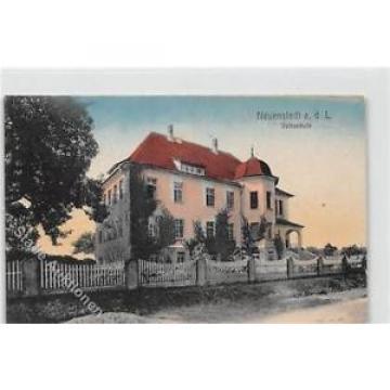 39102829 - Neuenstadt an der Linde. Volksschule ungelaufen  Gute Erhaltung.