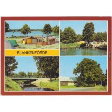 Blankenförde Zeltplatz Jamelsee, Laufsteg am See, Havelbrücke, Große Linde 1985