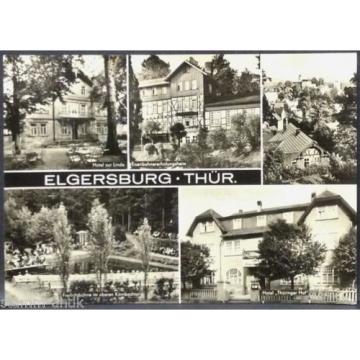 Elgersburg,Thür.,Hotel zur Linde,Thüringer Hof,Eisenbahnheim,Freilichtbühne,Ak