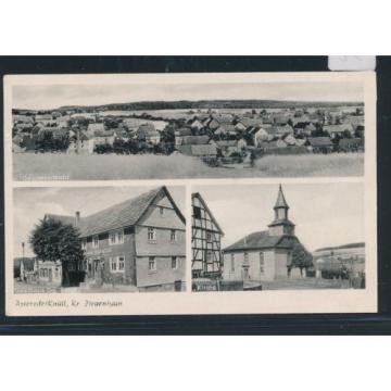 03591) Schwalmstadt, Landpost Ra3579 Asterode 1962, TOP AK Gasthaus zur Linde