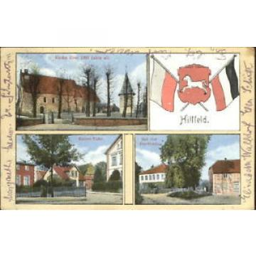 40488081 Hittfeld Hittfeld Kirche Eiche Linde x 1921 Seevetal