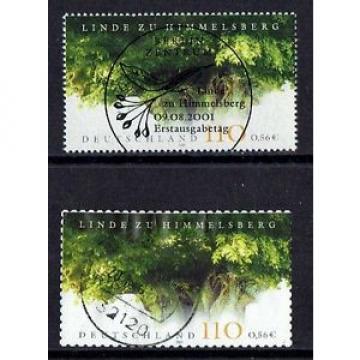 Bund Mi.Nr. 2208 aus ZB u. 2217 aus MH 45 Linde gestempelt Jahrgang 2001 (12)